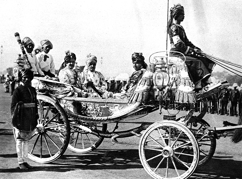 The Maharajah Jam Saheb of Nawanager, before going to the front, photo: Mary Evans Picture Library / East News