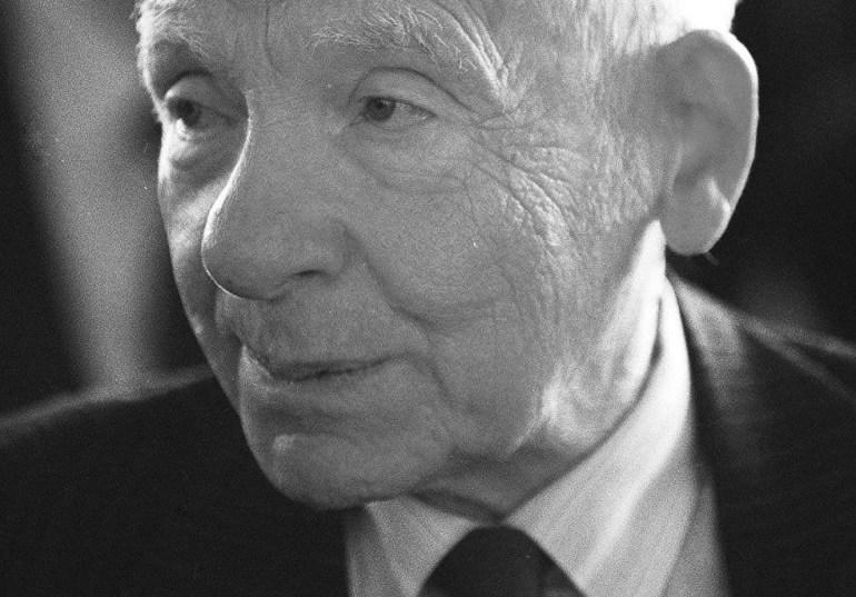 Józef Rotblat, Zamek Królewski w Warszawie, 1998, fot. Piotr Janowski / AG
