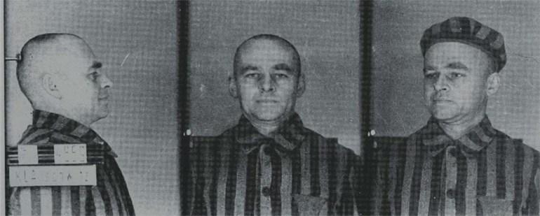 Витольд Пилецкий, заключенный концлагеря Аушвиц № 4859. Фото: Институт национальной памяти / www.pilecki.ipn.gov.pl