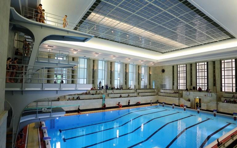 Swimming pool inside the Palace, photo: Mariusz Grzelak / Reporter / East News