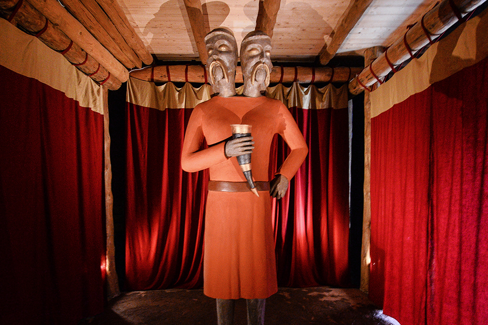 Opening of the first Museum of Slavic Mythology in Owidz gord, photo: Łukasz Dejnarowicz/Forum