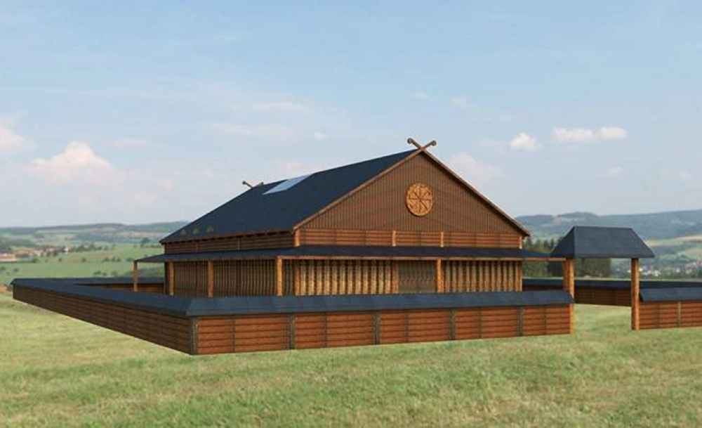 Visualisation of the Slavic Temple, photo: Watra Foundation