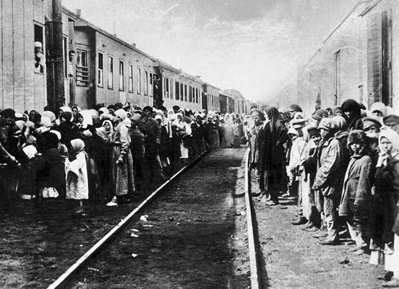 Poles mass deportations to USSR. Photo: IPN