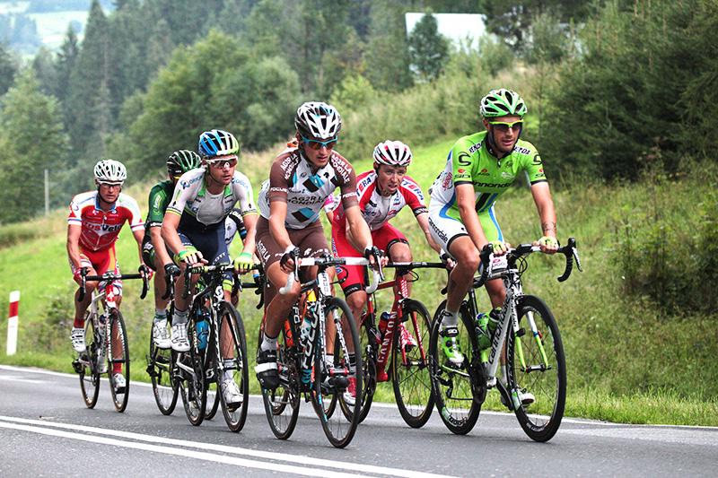 Bukowina Tatrzańska, 08.08.2014. Tour de Pologne, photo. Tomasz Chowaniec/Forum