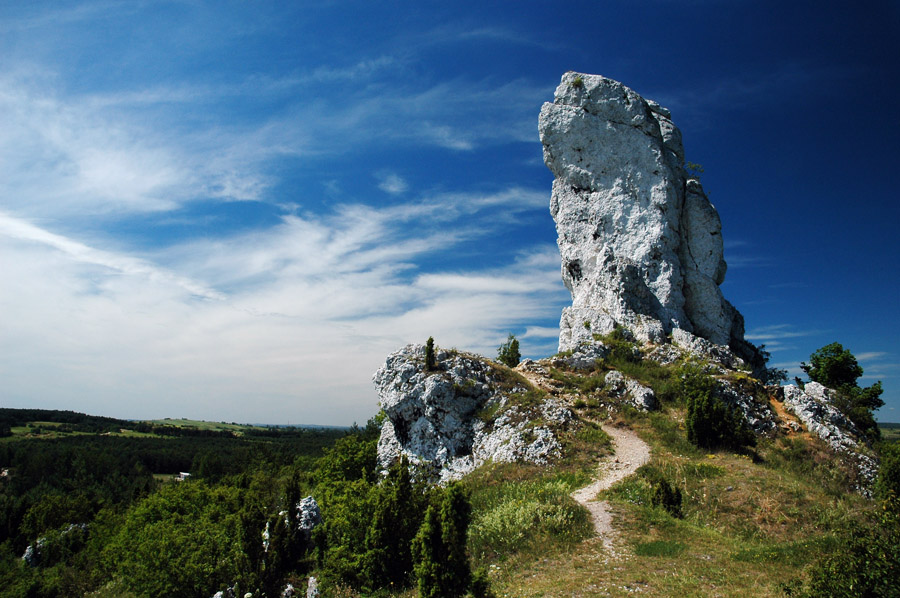 Park Krajobrazowy Orlich Gniazd, Szlak Orlich Gniazd, Jura Krakowsko-Czestochowska, photo: Andrzej Sidor / Forum