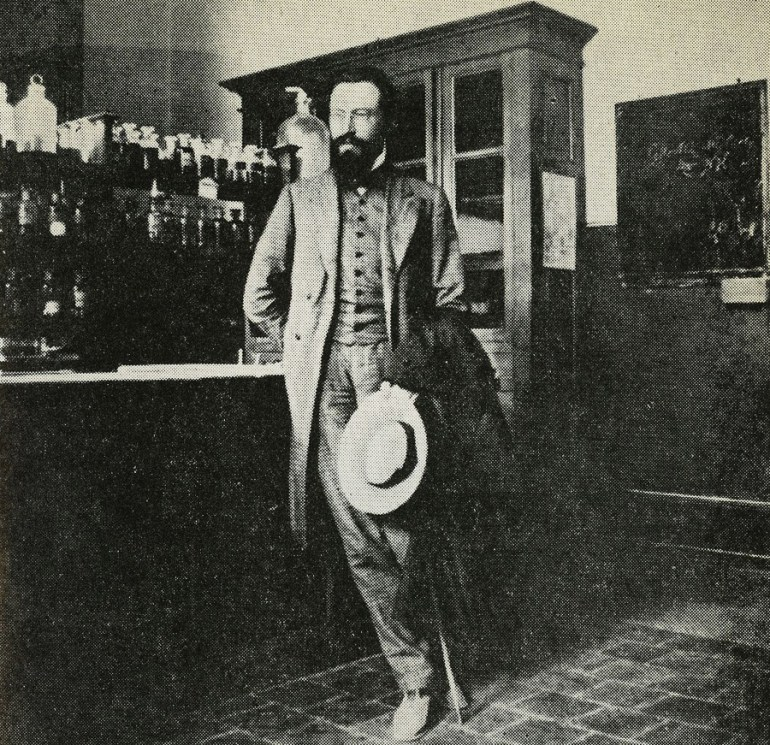 Ежи Жулавский в период своих одиноких путешествий по Италии, Франции и Германии в 1903–1907 годах, фото из семейного архива