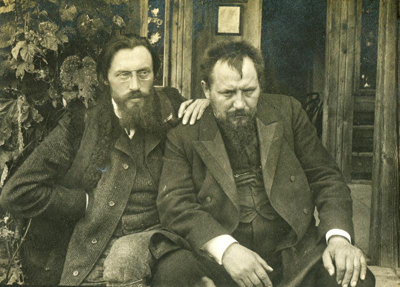 Ежи Жулавский и Ян Каспрович, 1911 год, фото из семейного архива Жулавских