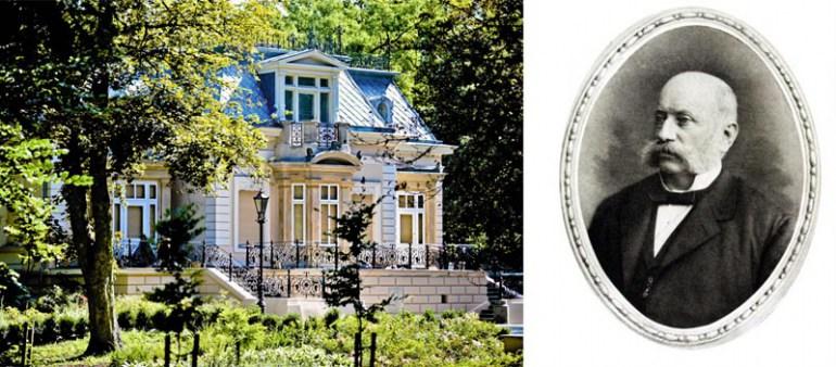 Неоренессансный дворец Кароля Августа Диттриха и его портрет, фото: Адам Козак /AG, www.zyrardow.pl