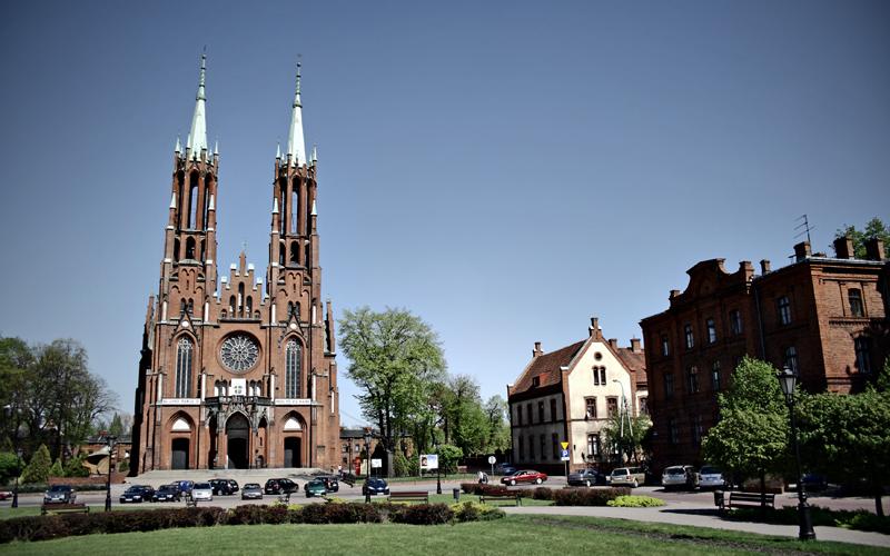 Жирардув, площадь Иоанна Павла II (Plac Jana Pawła II). Фото: Кшиштоф Жуковский/Forum