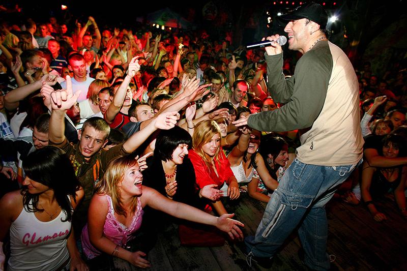 Disco polo concert with the band Boys in Wilka koło Dęblina, photo: Jan Zamoyski / AG