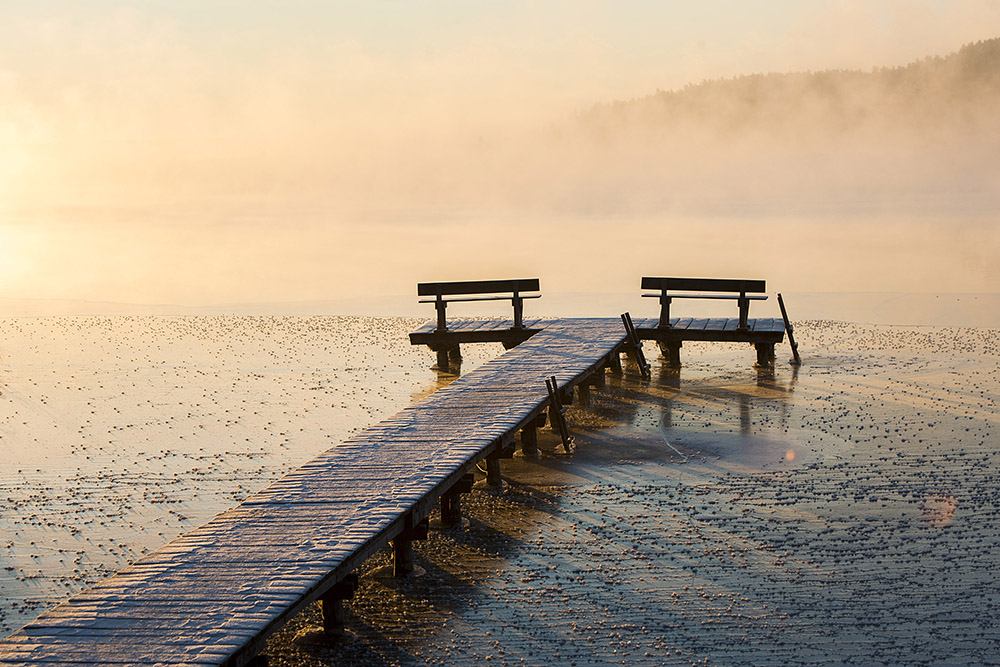 Jezioro Wigry, Wigierski Park Narodowy. Fot. Andrzej Sidor / Forum