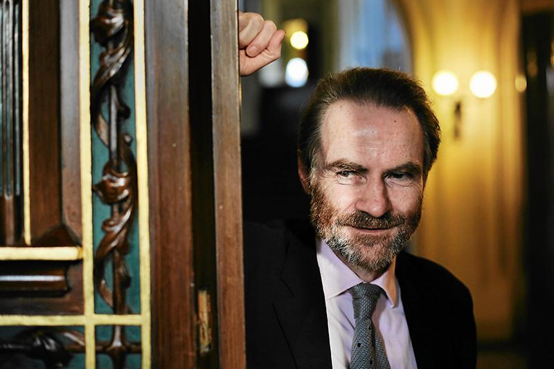 Timothy Garton Ash, fot. Mateusz Skwarczek / AG