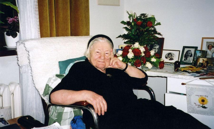 Irena Sendlerowa, fot.  archiwum Janiny Zgrzembskiej / East News