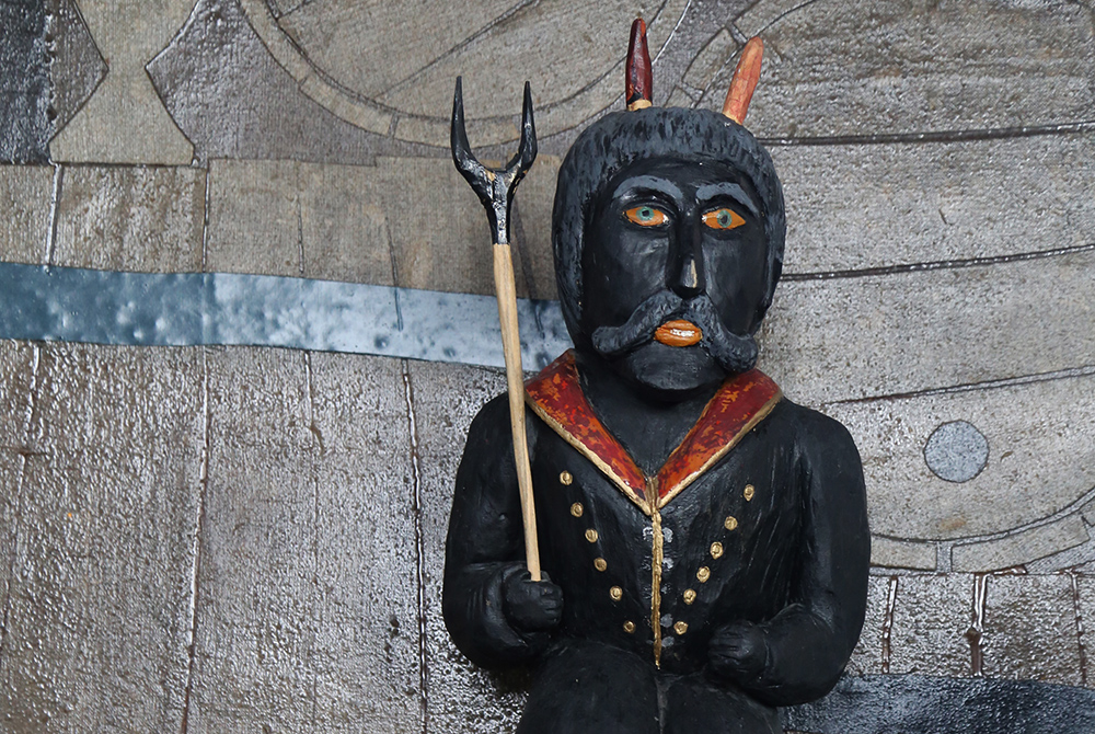 The Devil Boruta at the Royal Castle in Łęczyca, photo: Joanna Borowska / Forum