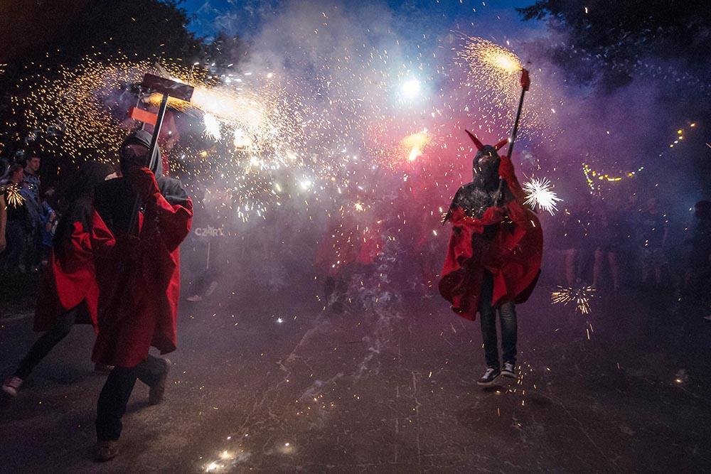 The Czart parade at the Frytka OFF Festival of Alternative Culture in Częstochowa, photo: Marek Dziurkoski / Forum
