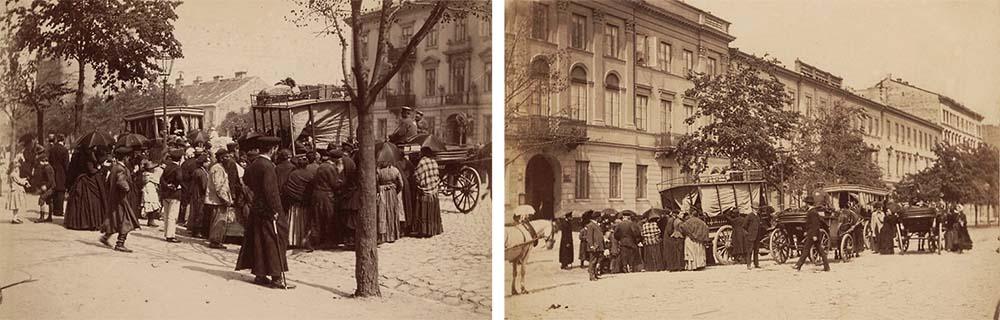 Jerusalem Avenue, 1870, photo: mbc.cyfrowemazowsze.pl