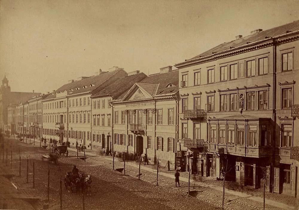 Leszno Street, 1875, photo: mbc.cyfrowemazowsze.pl