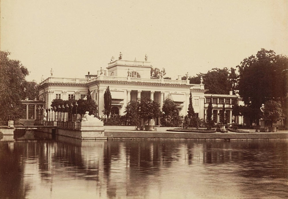 The Palace on the Water, 1870, photo: mbc.cyfrowemazowsze.pl