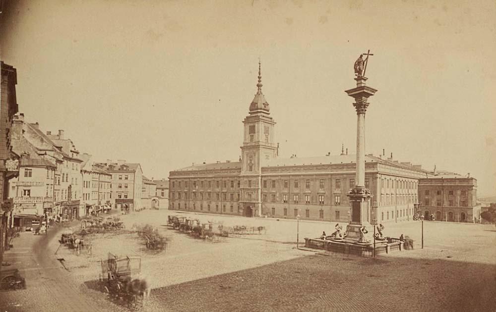 Castle Square, 1871, photo: mbc.cyfrowemazowsze.pl