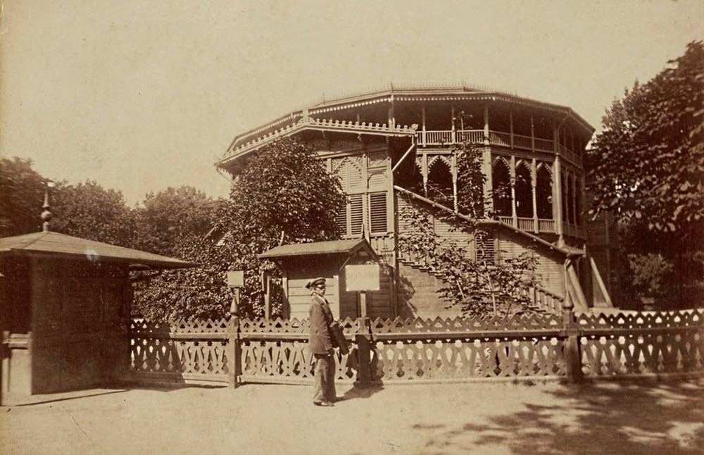 The Summer Theatre in Saxon Gardens, 1870, photo: mbc.cyfrowemazowsze.pl