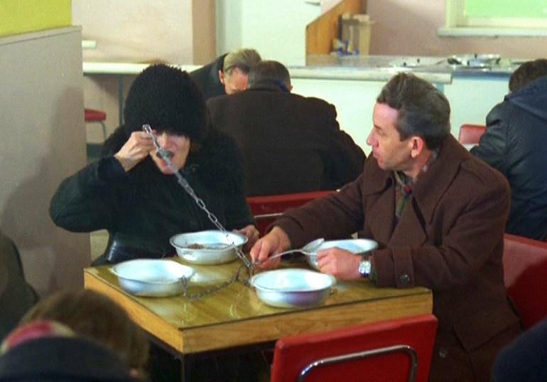 "Still from the comedy movie ""Miś / Teddy Bear"", photo: Polfilm / East News"