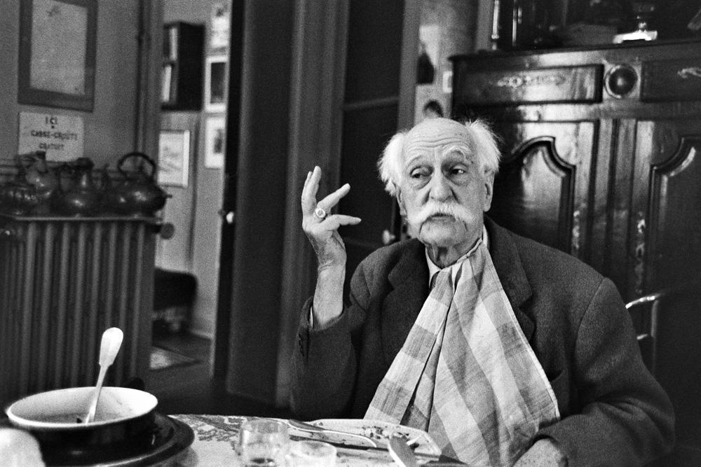 Профессор Эдвард Пожерский де Помиан, Париж, Франция, февраль 1958. Фото: Владислав Славный / FORUM
