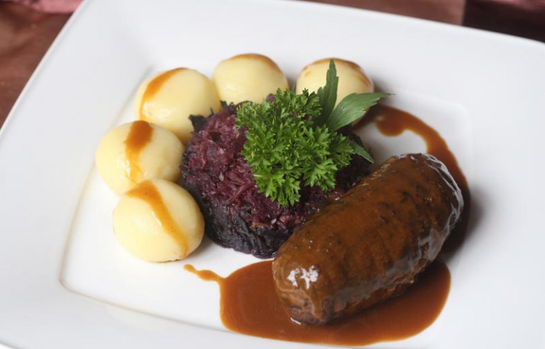 Silesian kluski with roast gravy, photo: Rafał Mielnik / AG