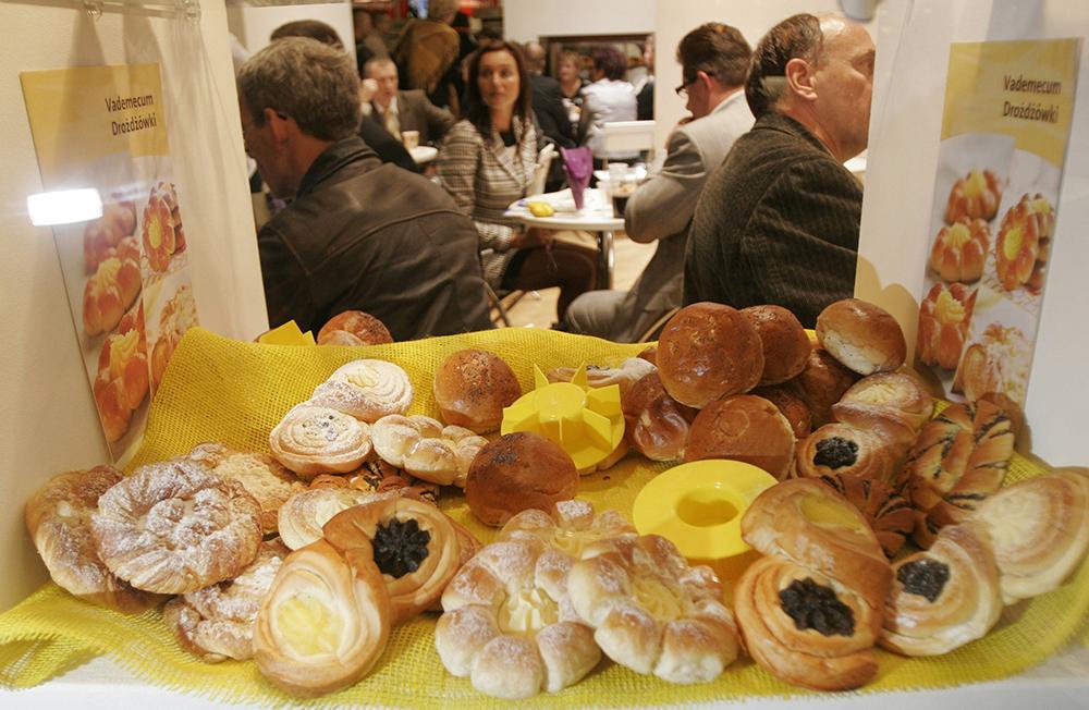 Sweet rolls, photo: Piotr Skórnicki / AG