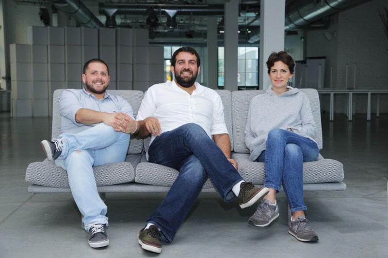 From left to right: Maksut Aksar, Semi Hakim and  Didem Şenol Tiryakioğlu cooking in Poland,photo: IAM