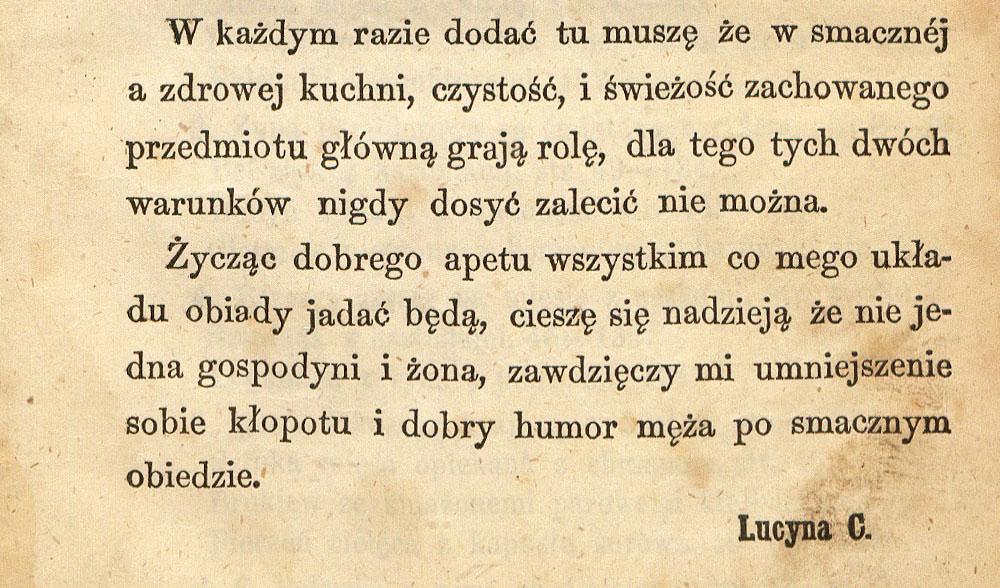 365 Obiadów za 5 Złotych (365 Meals for 5 Złotys), Lucyna Ćwierczakiewiczowa, photo: National Library of Poland (Polona.pl)