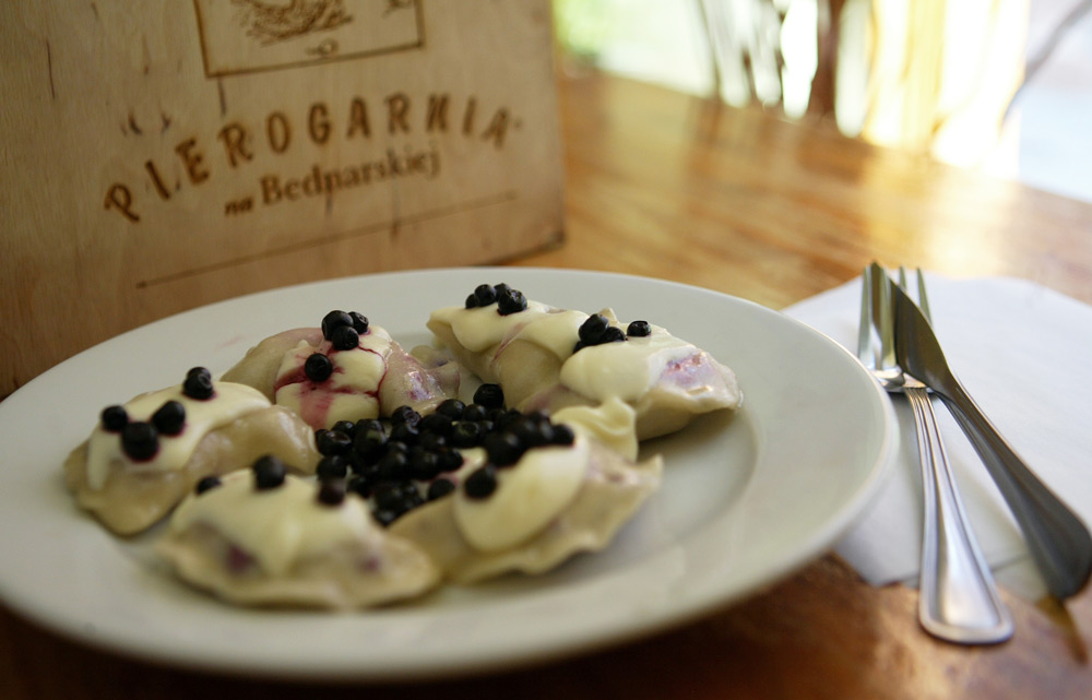 Pierogi with Wild Blueberries, photo by Seweryn Sołtys / Fotorzepa / Forum