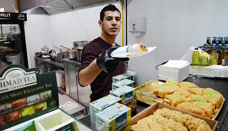 Beirut Falafel, Варшава. Фото: Францишек Мазур / AG