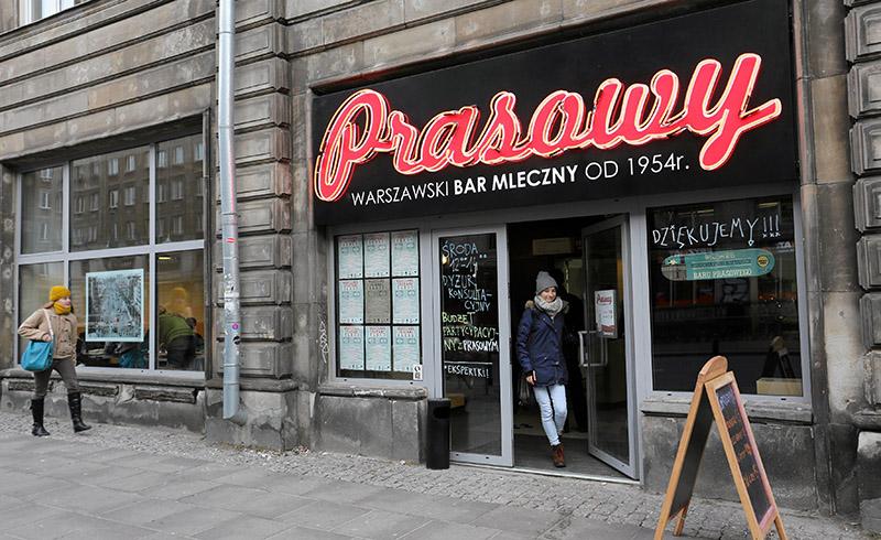 Молочный бар «Prasowy», Варшава. Фото: Францишек Мазур / AG