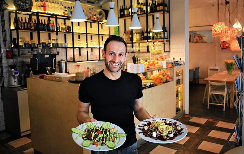 Бар «Tel Aviv Food & Wine». Фото: Яцек Марцевский/AG