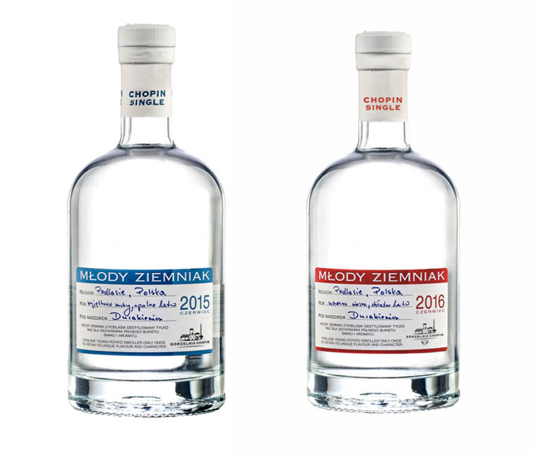 Młody Ziemniak vodka, photo: Polmos Siedlce