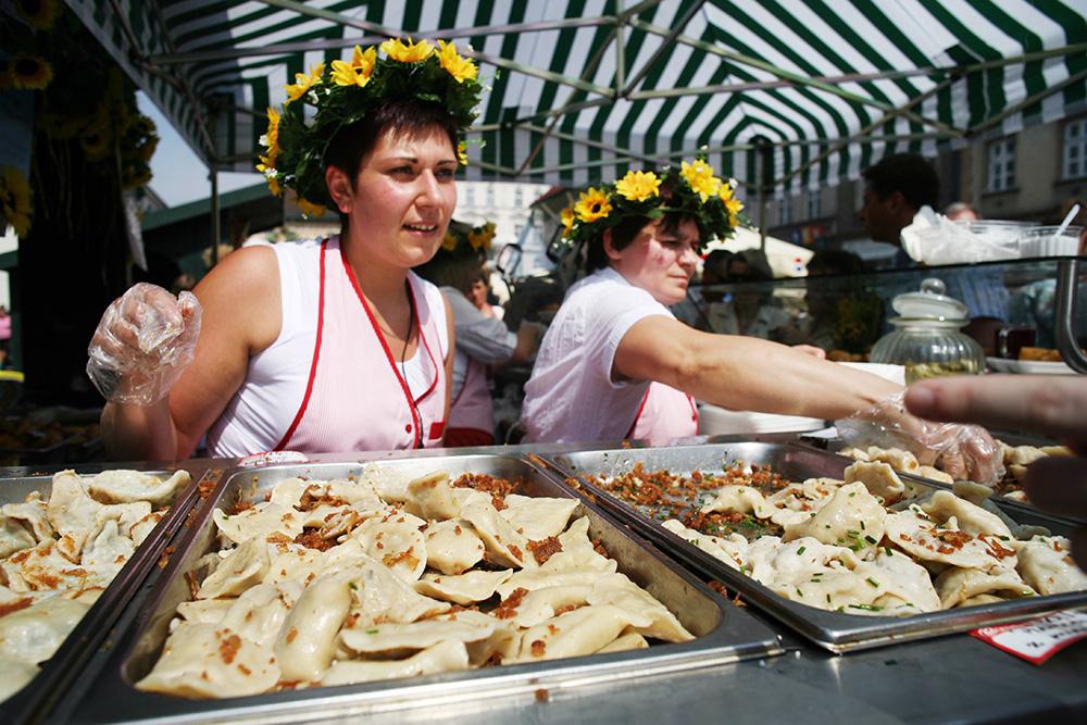 Kraków Pierogi Festival, photo:  Tomasz Wiech/AG