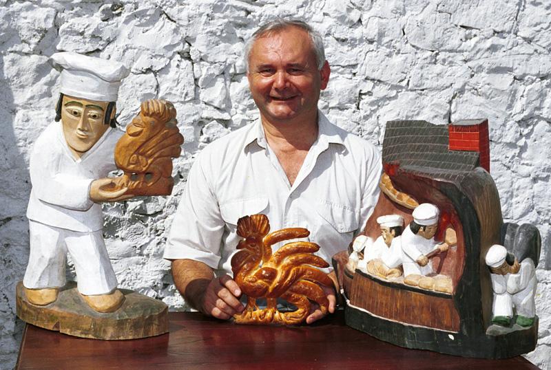 Cezary Sarzyński, famous baker from Kazimierz Dolny, photo: Piotr Bławicki/East News