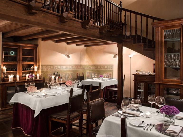Wnętrze restauracji Copernicus, fot. Cezary Hladki