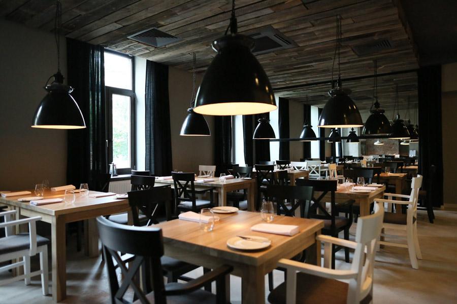 Wnętrze restauracji L'enfant terrible, fot. Agata Grzybowska  / AG