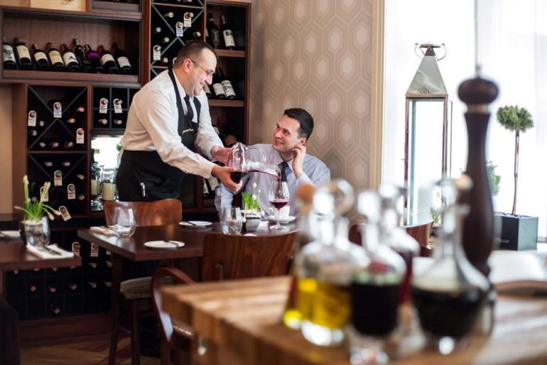 Wnętrze restauracji Salto, fot. Bartosz Bobkowski / Agencja Gazeta