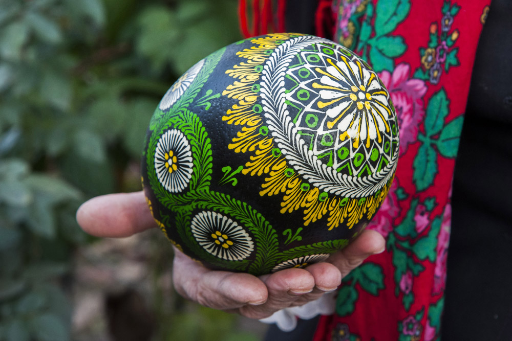Pisanki (Polish painted Easter eggs), photo: Andrzej Sidor / Forum