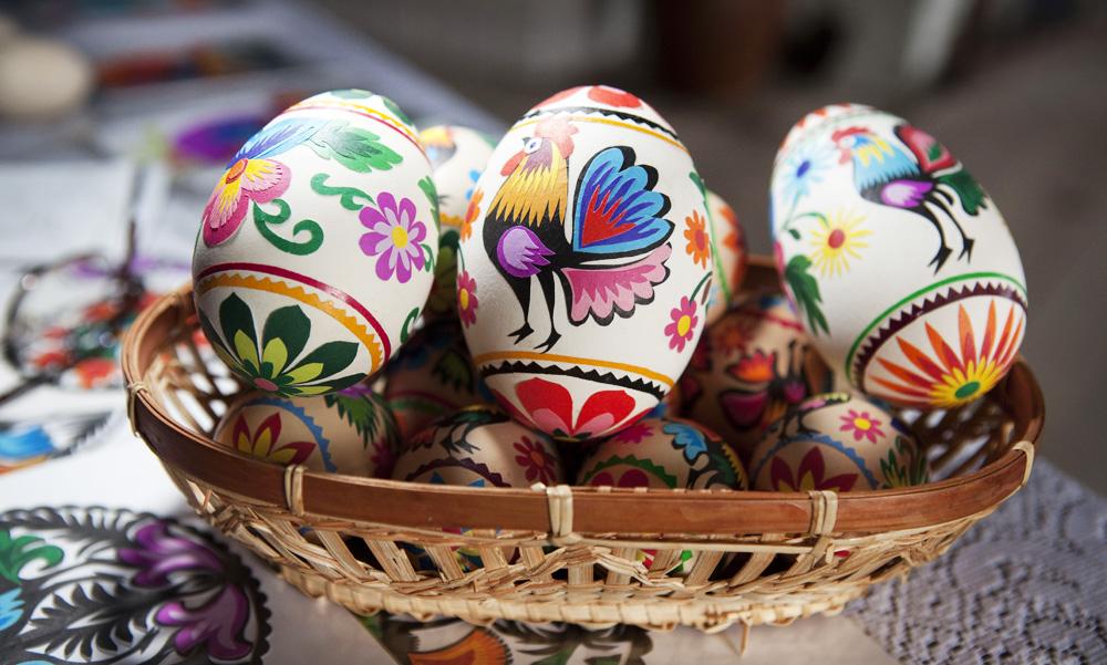 Eggs (Pisanki), photo: ZUBRZYCKI MARIAN/FOTORZEPA / FORUM