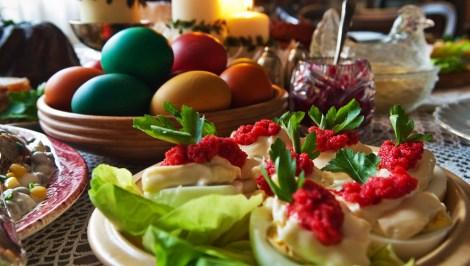 Traditional Polish Easter meal, photo: Wojciech Krajnik / Forum