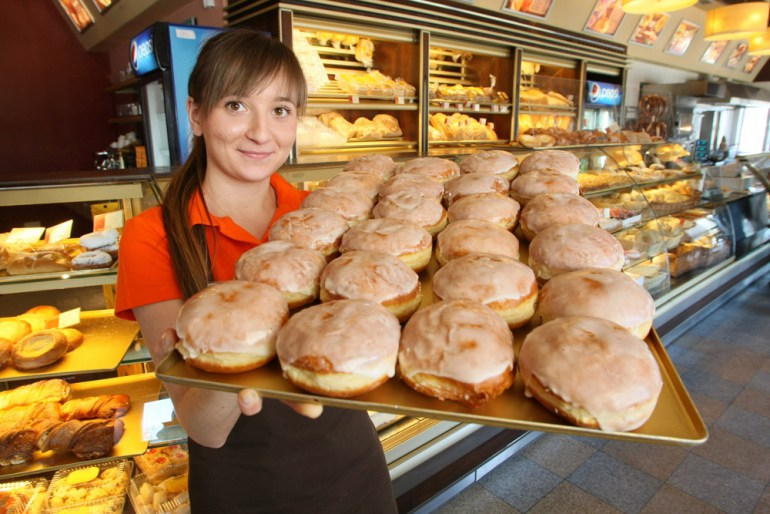 "Pastry shop ""Pod Telegrafem"", Kielce, photo: Dawid Lukasik/Echo Dnia/ Forum"