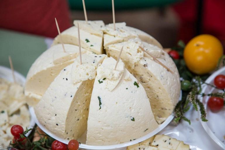Award-winning Korycin cheese, photo: Anatol Chomicz / Forum