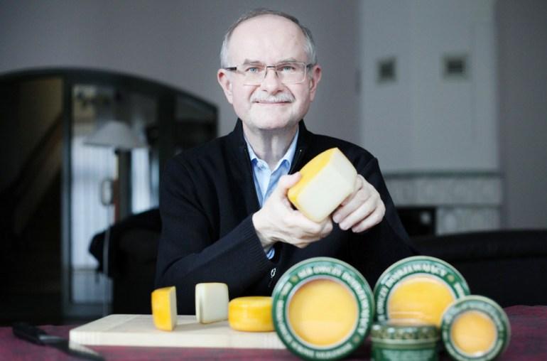 Roman Kluska, well-known cheese producer, photo: Piotr Guzik / Forum
