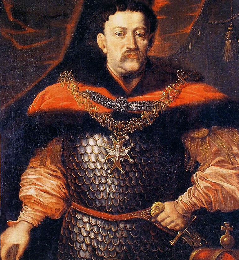 Ян III Собеский с Орденом святого духа, картина Даниэля Шульца. Фото: Wikipedia