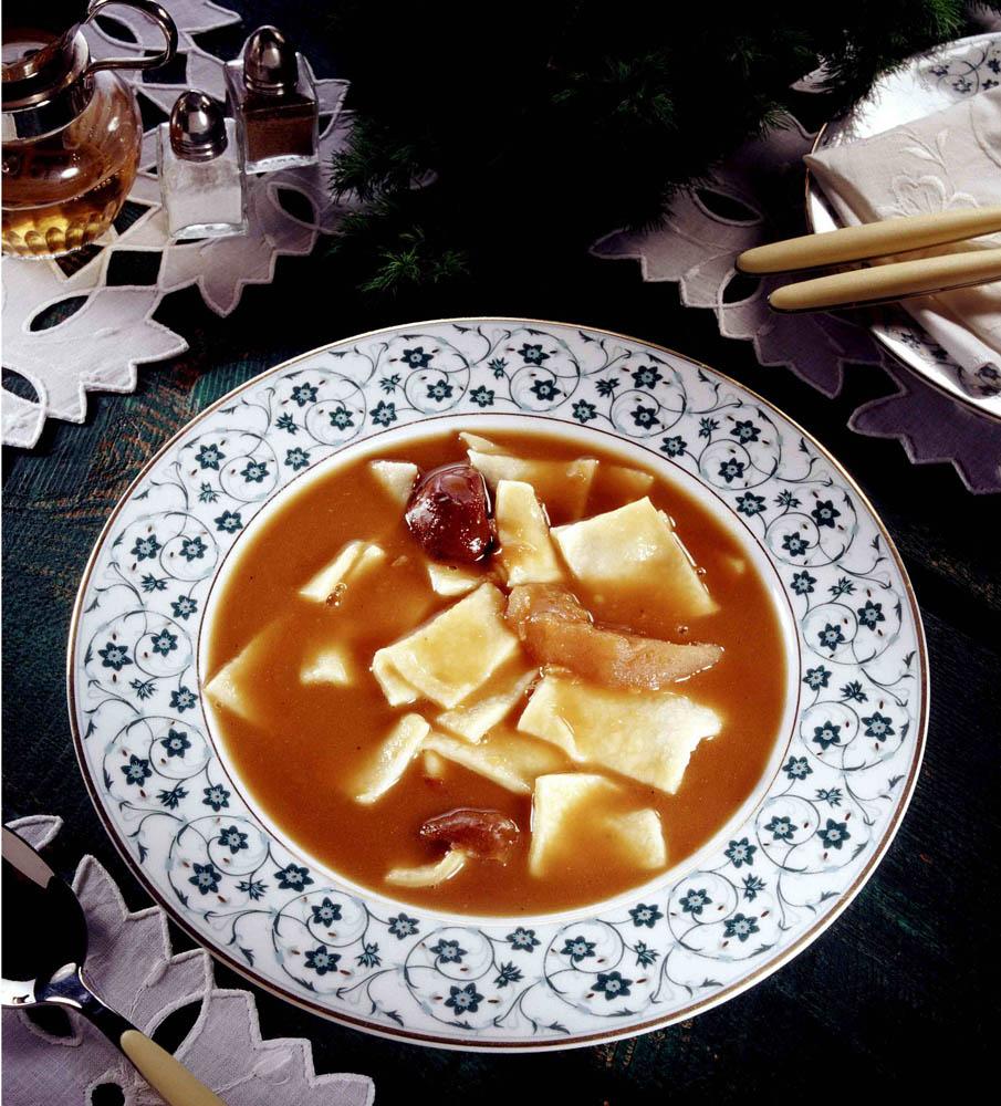 Duck blood soup (czernina / czarnina), photo: Andrzej Zygmuntowicz / Reporter