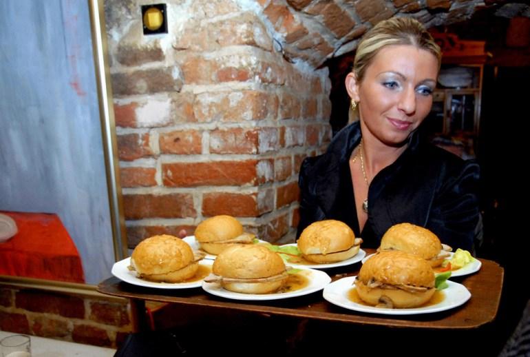 Maczanka krakowska prababki hamburgera, fot. M. Łasyk / Reporter / East News