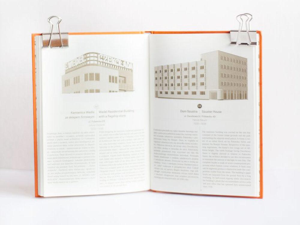 """Zdjęcie książki """"MOK. Ilustrowany atlas architektury północnego Mokotowa"""", fot. materiały prasowe Wydawnictwa"""